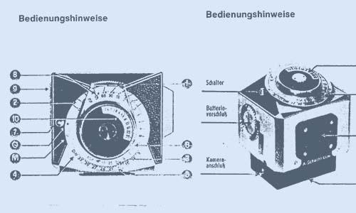 TTL-Belichtungsmessung mit der Edixa Reflex - Schacht Travemat CDS-Meßsucher Bedienungsanleitung, Manual