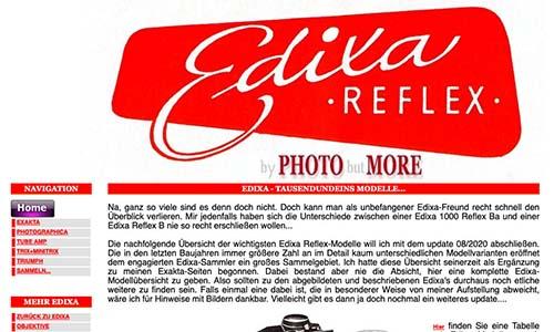 Edixa-mat-Reflex link zu photo but more