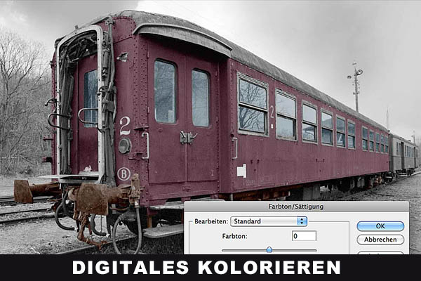 Technik - Digitales kolorieren
