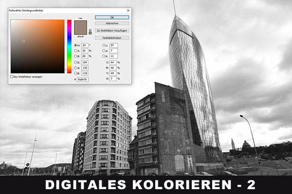 Technik - Digitales Kolorieren mit Photoshop